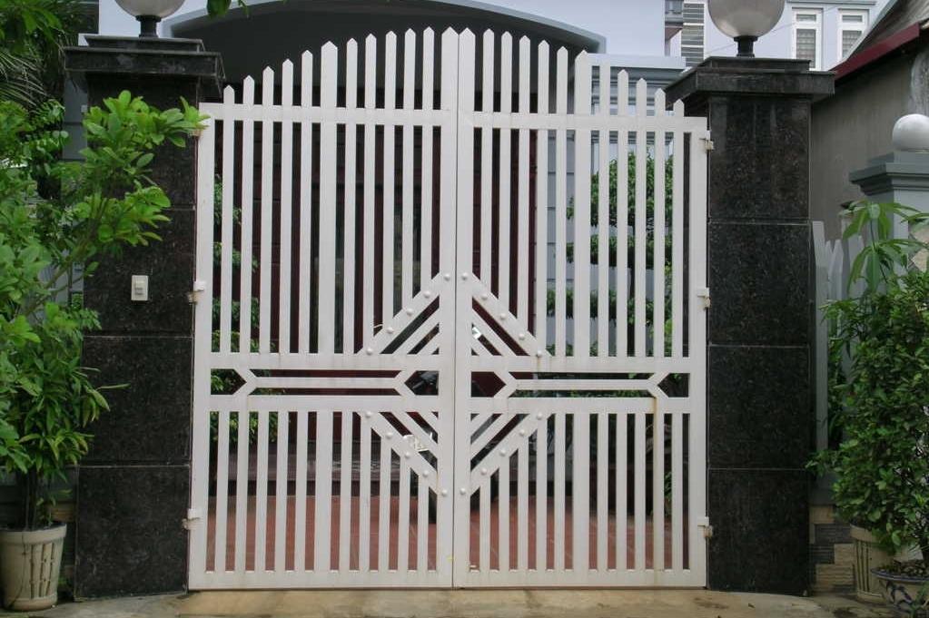cổng sắt đẹp được ưa chuộng